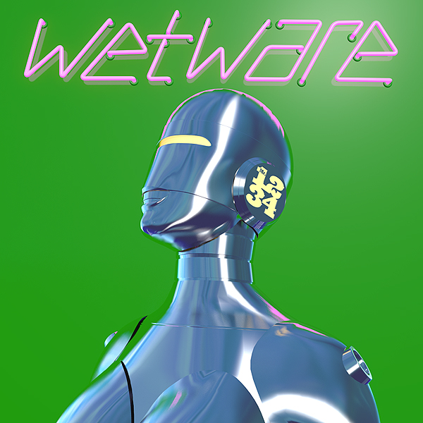 Cover Art for Wetware by Mister 1-2-3-4